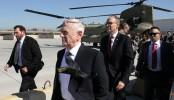 US defense secretary arrives in Baghdad on unannounced visit
