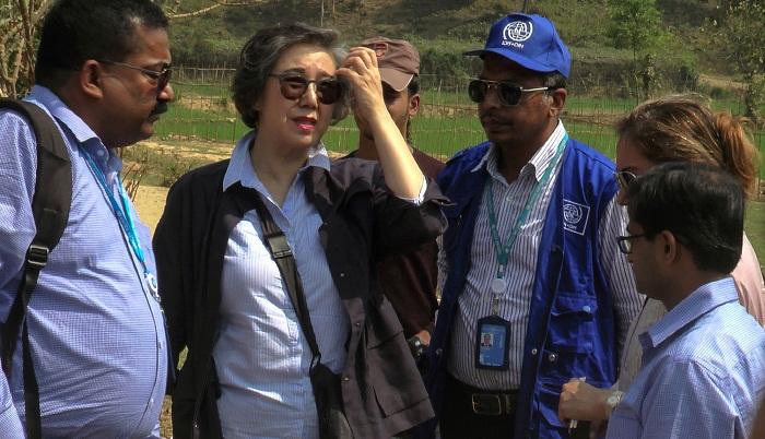UN envoy visits Rohingya camps in Cox's Bazar