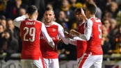 Arsenal avoid cup upset with 2-0 win over Sutton United