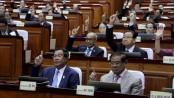 Cambodia MPs back law barring PM Hun Sen's long-time rival