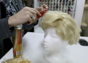 Trump wigs in big demand during Carnival season in Austria