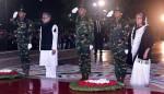 President, PM pay homage to language martyrs at Shaheed Minar