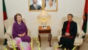 Bernicat meets Khaleda to understand political situation
