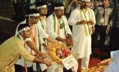 Kolkata cultural delegation pays tribute to language heroes