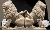 Long-lost lions from Charles V's tomb to be auctioned