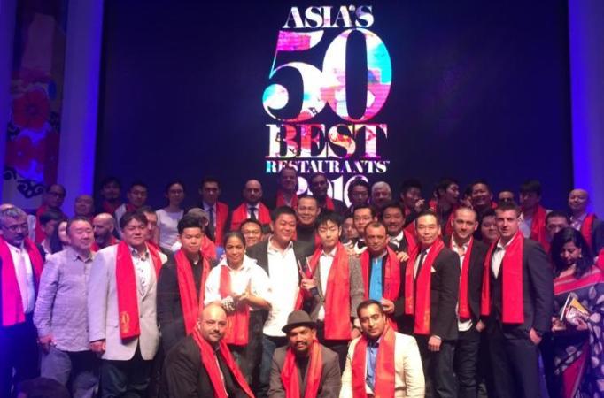 Gaggan crowned Asia's best restaurant in 2017