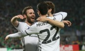 Manchester United eases into Europa League last 16
