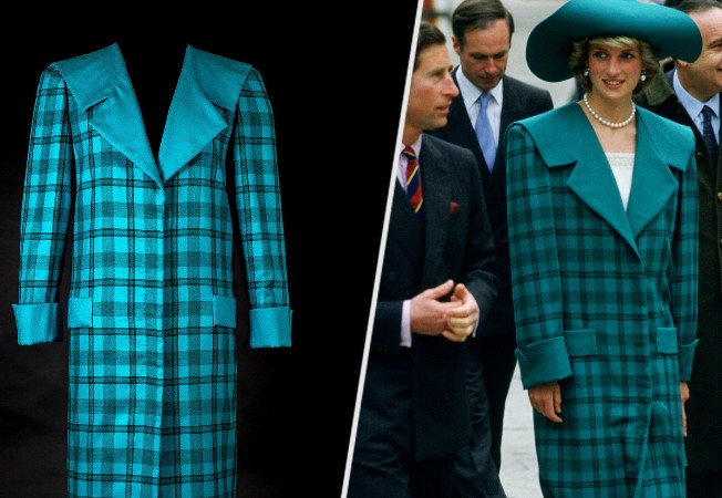 Princess Diana's iconic dresses on show for anniversary