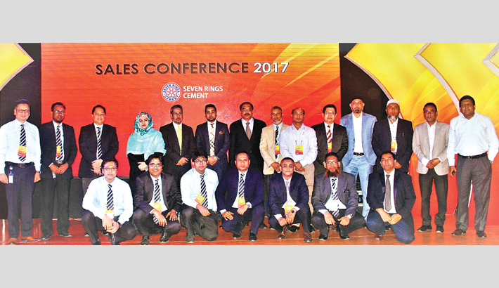 Seven Rings Cement holds annual sales confce