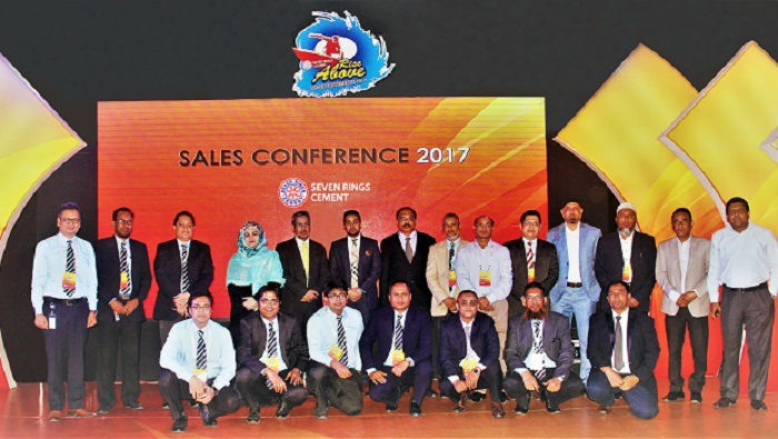 Seven Rings Cement's Annual Sales Conference 2017 held
