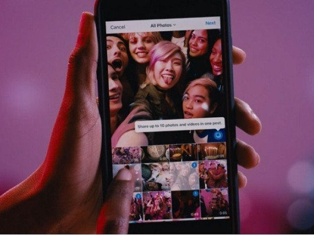 Instagram will now let you share 10 pictures and videos in one post