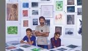 6th Kibria International Print Fair Held In The City