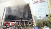 10 killed in fire at a luxury hotel in China's Nanchang city