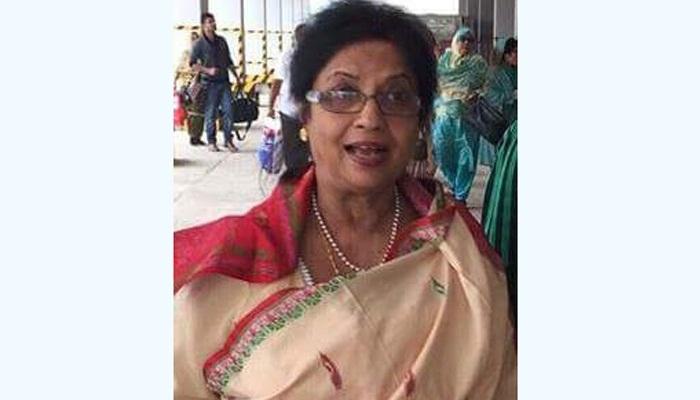 Joya Sengupta chosen as AL candidate for Sunamganj-2 by-polls