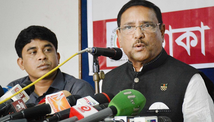 Quader asks transport workers to withdraw illogical strike