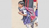 Kids overburdened with schoolbooks