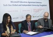 IUB signs Microsoft education agreement