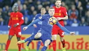 Vardy lifts Foxes to  post-Ranieri win