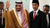 Saudi king visits Indonesia with huge entourage, tons of gear