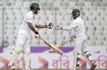 Bangladesh cross 150, both Tamim and Mominul gets fifty