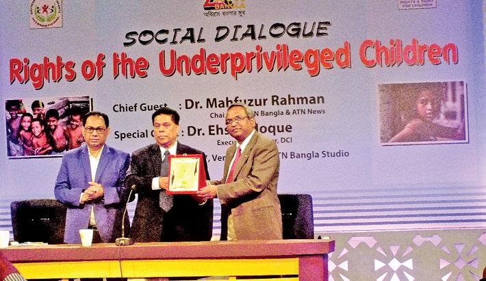 ATN Bangla honours Ehsan Hoque