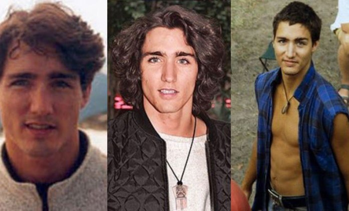 Young, shirtless Canadian PM Justin Trudeau steals hearts on social media