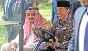 Saudi king urges fight against terrorism on Indonesia trip