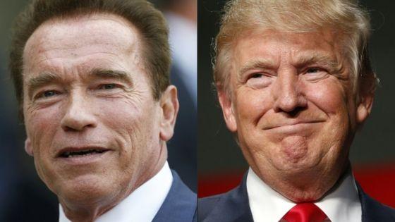 Arnie exits Apprentice and blames Trump