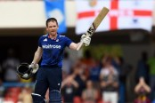 Morgan hundred powers England past West Indies in 1st ODI
