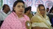 Shafiya, Mahmuda made president, secretary of Mahila Awami League