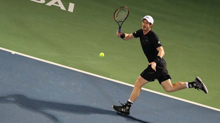 Murray claims 45th career title with Dubai triumph