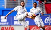 Benzema puts Ronaldo-less Madrid back on top