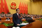 China cuts growth target to 6.5% this year: Premier Li Keqiang