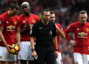 Wasteful Man United held to 1-1 draw by 10-man Bournemouth
