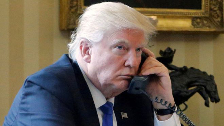 Trump urged to back up claims his phones were tapped by Obama