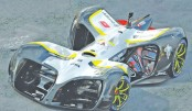 Driverless race car wows Mobile World Congress
