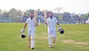 Mithun, Tushar, Farhad hit tons in BCL