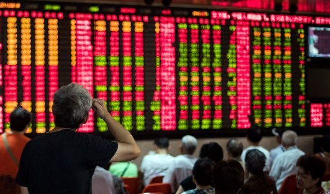 Asian shares mixed following NKorean missile launch