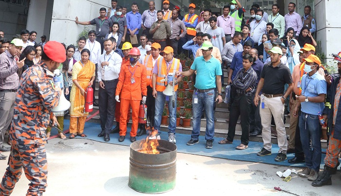 BRAC Bank conducts fire evacuation and safety drill