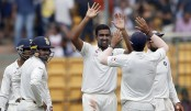 Ashwin breaks Hadlee's record