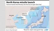 N Korea fires missiles, 3 reach Japan waters