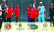 """3rd National Talent Hunt Camp for Physically Challenged Cricketers"" Wednesday"