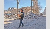 Bombing of Syria rebel bastion despite truce