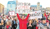 Global marches, strikes demand equality on Women's Day