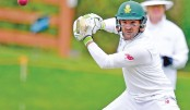 Elgar goes, South Africa stumble as rain hovers