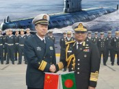 First submarines commissioned in Navy