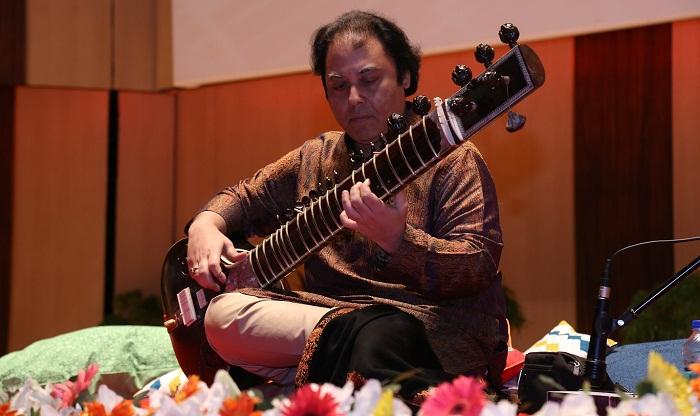 Irshad Khan performs Sitar Recital Evening at IUB