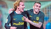 Griezmann hits Atletico winner, Sevilla hopes dented