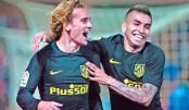 Griezmann hits Atletico winner, Sevilla hopes dented
