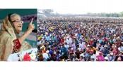 Sheikh Hasina again seeks vote for Awami League